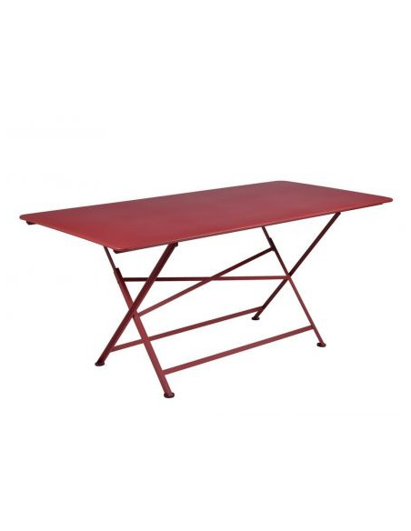 Table Cargo rectangle piment Fermob Salons de jardin repas