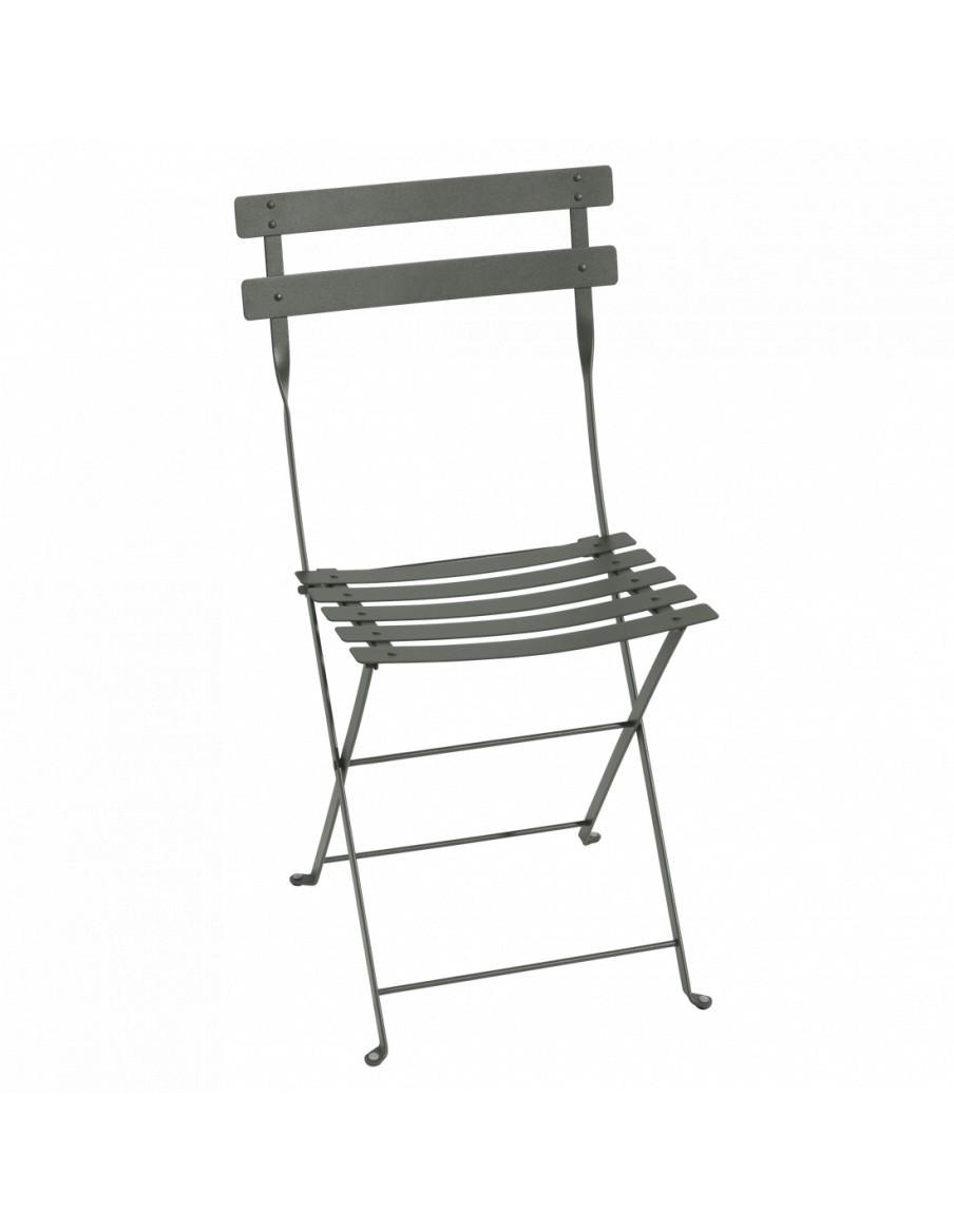 Chaise pliante Bistro romarin Fermob Salons de jardin repas