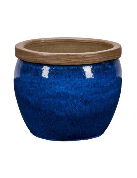Pot Bonn 1-01 Bleu - H.30 NDT Tous les pots et bacs