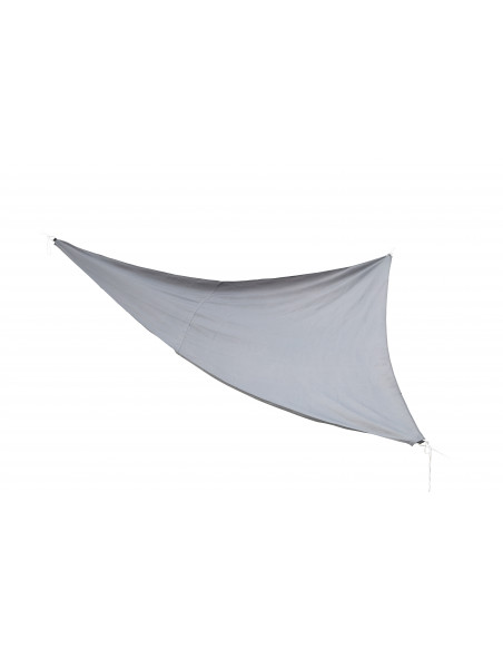Voile d'ombrage triangulaire Anthracite - 5m Jardiline Voiles d'ombrage