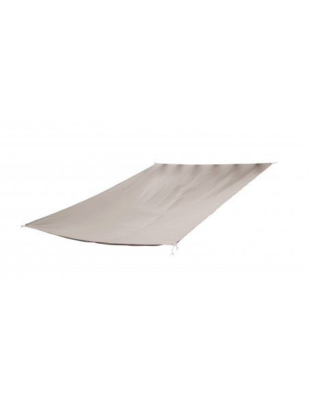 Voile d'ombrage rectangulaire Taupe Jardiline Voiles d'ombrage