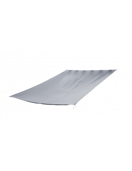 Voile d'ombrage rectangulaire Anthracite Jardiline Voiles d'ombrage