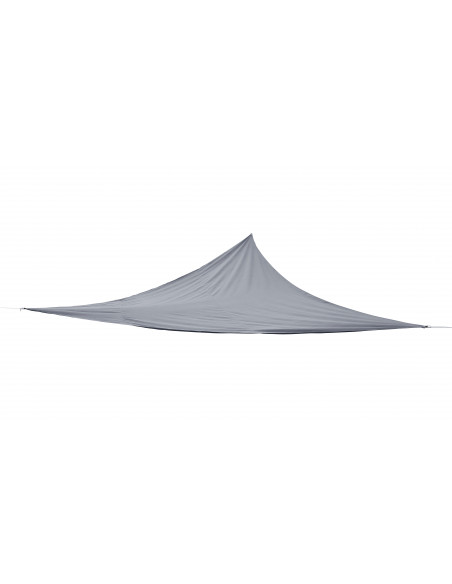 Voile d'ombrage triangulaire Anthracite - 3m Jardiline Voiles d'ombrage