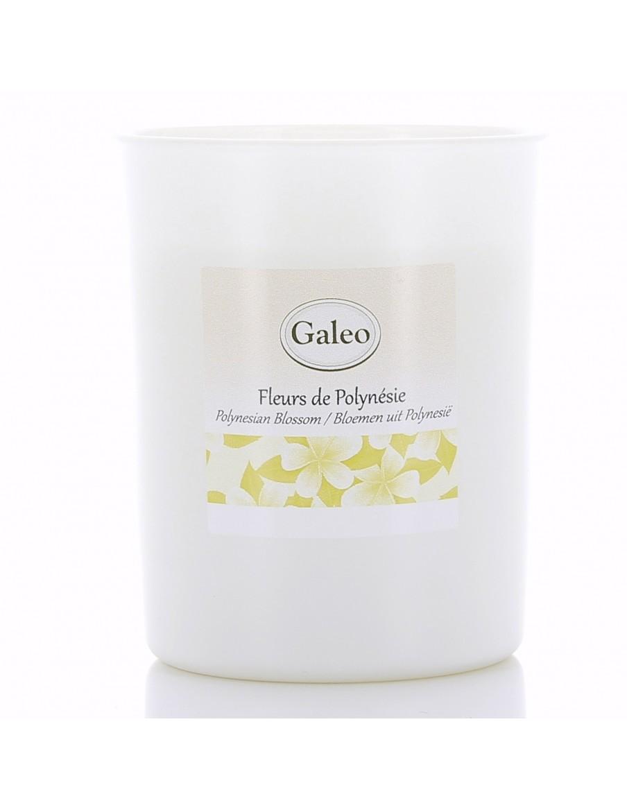"Bougie naturelle ""Fleurs de Polynésie"" GALEO  Bougies"