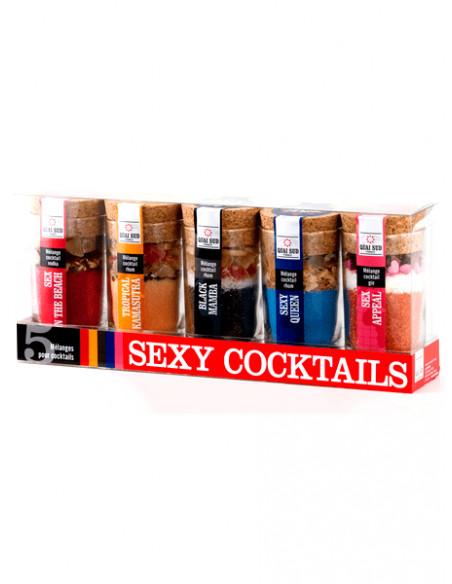 """Coffret """"Sexy Cocktails"""" Quai Sud Épicerie sucrée et salée"""