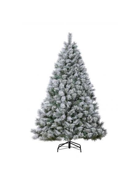 Sapin de Noël enneigé Carolina - H.150 cm  Sapin