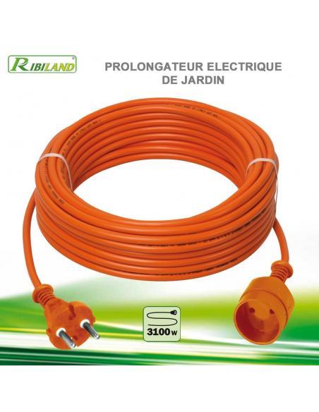 Prolongateur Electrique de Jardin - 25M Ribiland Bûcheronnage, élagage et taille