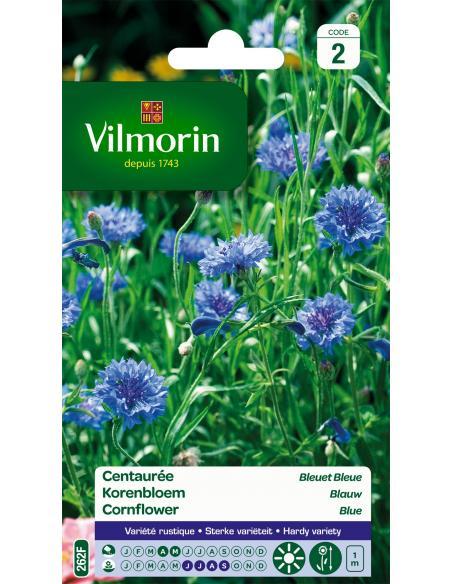 Centaurée bleuet double bleu Vilmorin Graines de fleurs