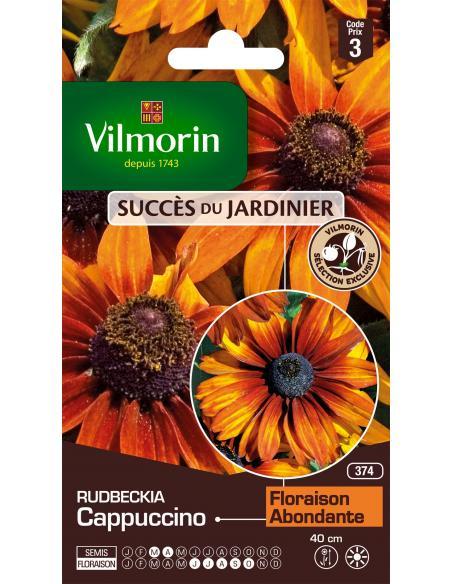 Rudbeckia cappuccino Vilmorin Graines de fleurs