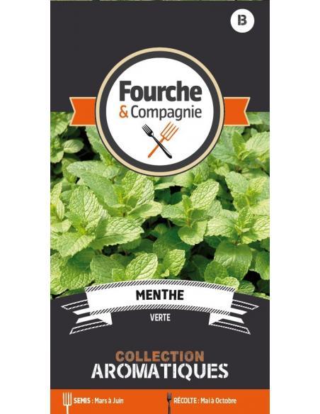 Menthe verte Fourche et Compagnie Graines aromatiques