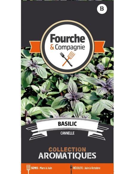 Basilic cannelle Fourche et Compagnie Graines aromatiques