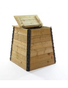 Composteur en bois Jardiland Gestion des déchets