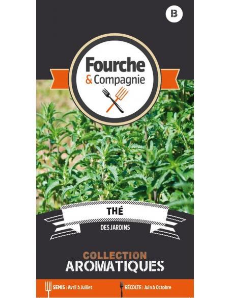 Thé des jardins Fourche et Compagnie Graines aromatiques