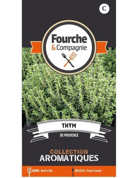 Thym de Provence Fourche et Compagnie Graines aromatiques