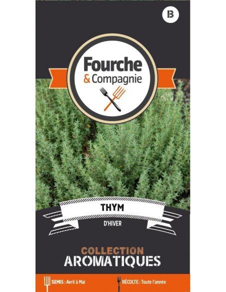 Thym d'hiver Fourche et Compagnie Graines aromatiques