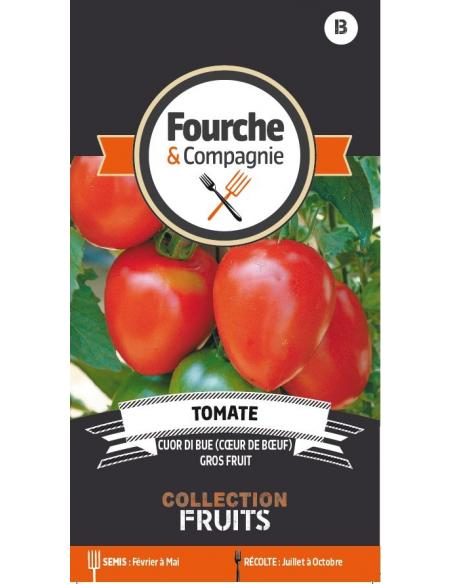 Tomate coeur de boeuf Fourche et Compagnie Graines potagères