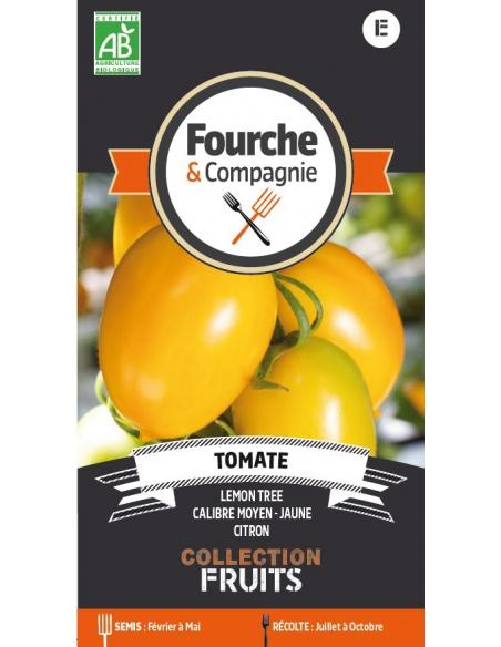 Tomate lemon tree Fourche et Compagnie Graines potagères