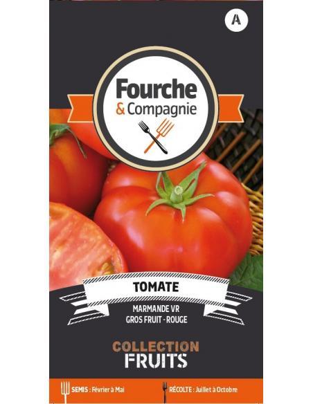 Tomate Marmande Fourche et Compagnie Graines potagères