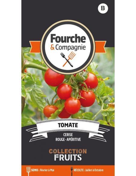 Tomate cerise Fourche et Compagnie Graines potagères