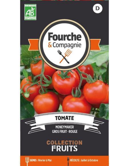 Tomate Moneymaker Fourche et Compagnie Graines potagères