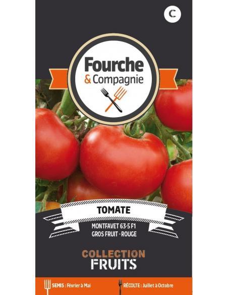Tomate Montfavet Fourche et Compagnie Graines potagères