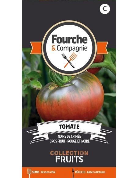 Tomate noire de Crimée Fourche et Compagnie Graines potagères