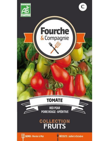 Tomate Red Pear Fourche et Compagnie Graines potagères
