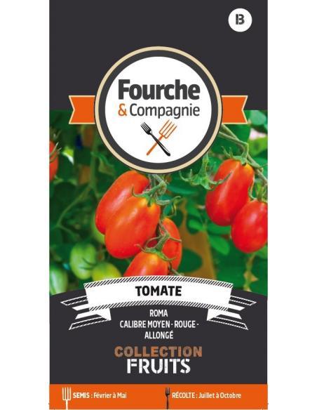 Tomate Roma Fourche et Compagnie Graines potagères