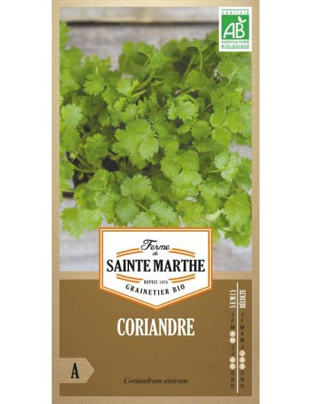Coriandre La Ferme de Sainte Marthe Graines aromatiques