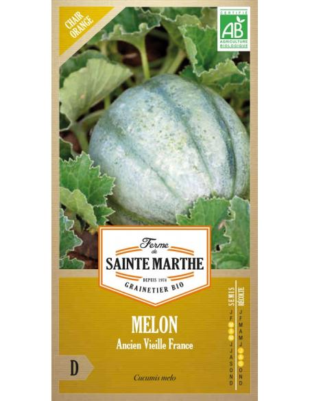 Melon ancien vieille France La Ferme de Sainte Marthe Graines potagères