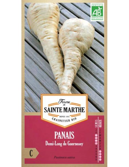 Panais demi-long de Guernesey La Ferme de Sainte Marthe Graines potagères