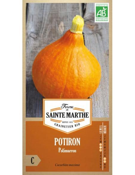 Potiron potimarron La Ferme de Sainte Marthe Graines potagères