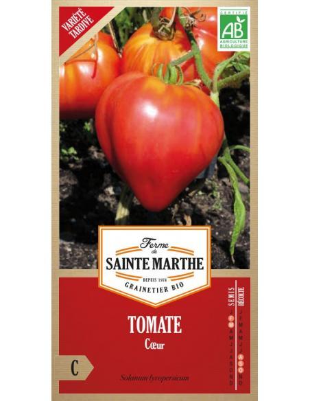 Tomate coeur La Ferme de Sainte Marthe Graines potagères