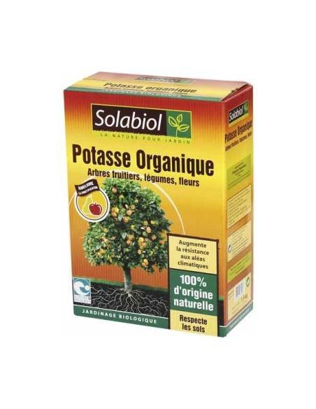 Potasse organique naturelle 1,5Kg Solabiol Engrais