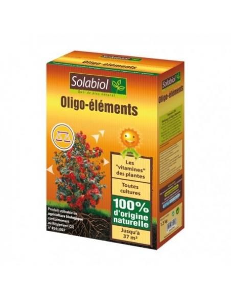 Oligo-éléments 1,5Kg Solabiol Engrais