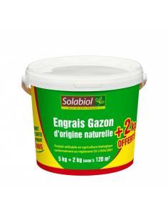 Engrais gazon 7Kg Solabiol Engrais