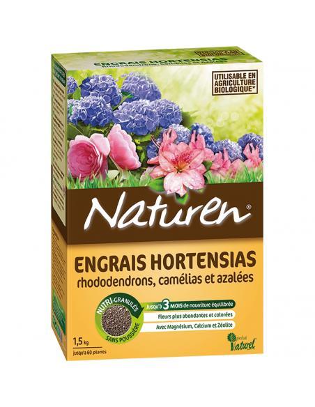 Engrais Terre de Bruyère / Hortensias 1,5Kg Naturen Engrais