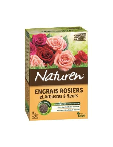 Engrais rosiers 1,5Kg Naturen Engrais