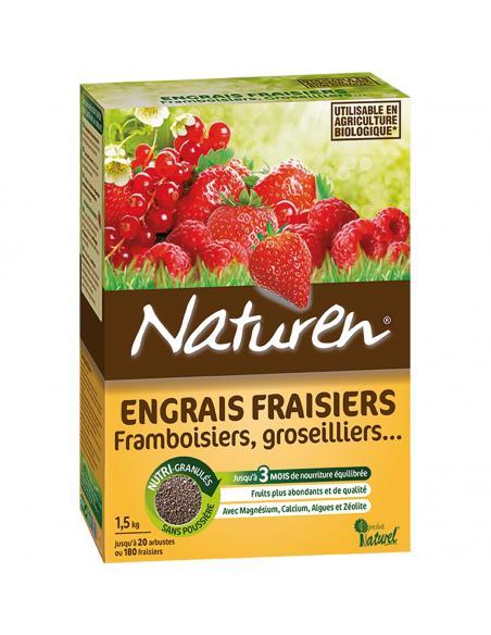 Engrais fraisiers 1,5Kg Naturen Engrais