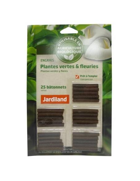 Engrais bâtonnets plantes vertes & fleuries Jardiland Jardiland Engrais