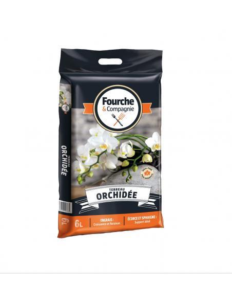 Terreau Orchidées 6L Fourche et Compagnie Terreaux et substrats