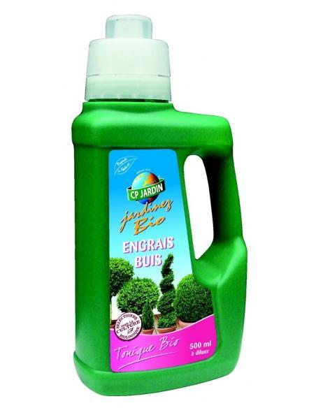 Engrais liquide foliaire Buis 500ml Cp Jardin Engrais