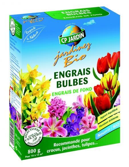 Engrais bulbes 800gr Cp Jardin Engrais