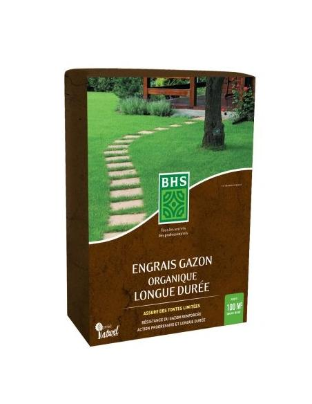 Engrais gazon organique 3Kg BHS Engrais