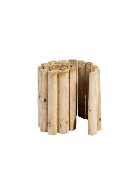 Bordure en bois en rouleau H.40 cm x 2 m HillHout Bordures