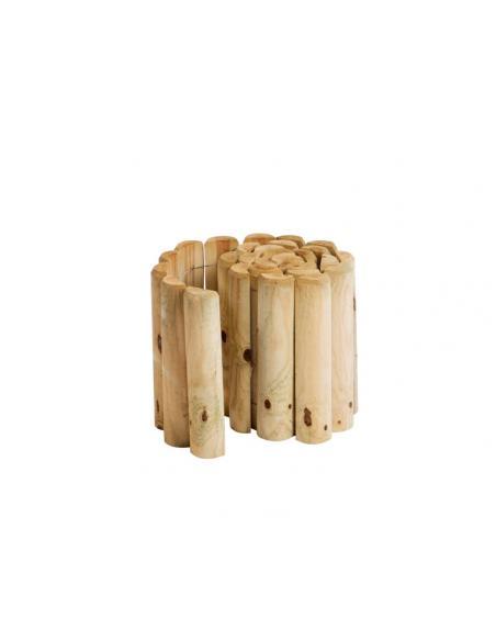 Bordure en bois en rouleau H.20 cm x 1,8 m HillHout Bordures