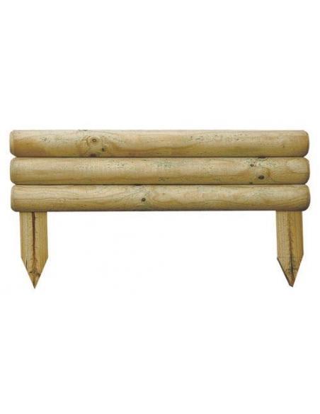 Bordure en bois Bocage 30 x 55 cm Forest Style Bordures