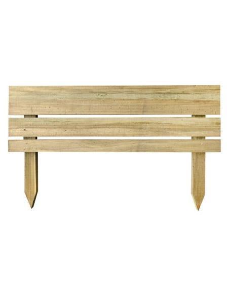 Bordure en bois Nova L.80 x H.30 cm Forest Style Bordures