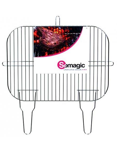 Grille simple Caracas 52,5x39 cm Somagic barbecue Cuisson et entretien