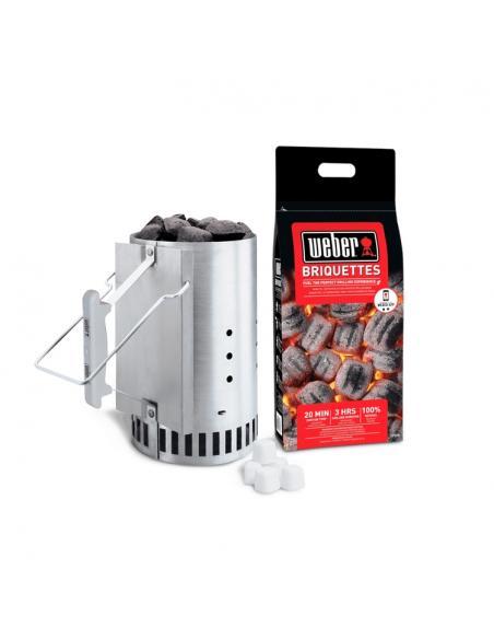 Kit cheminée d'allumage Rapidfire Weber Cuisson et entretien